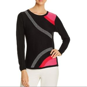 NIC + ZOE Inner Circle Abstract Sweater Size XXL